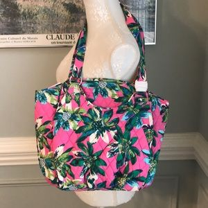 Vera Bradley NWT Tropical Paradise Glenna Bag